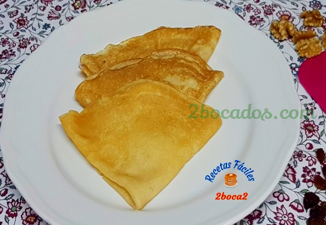 Crepes dulces, Crepes Salados