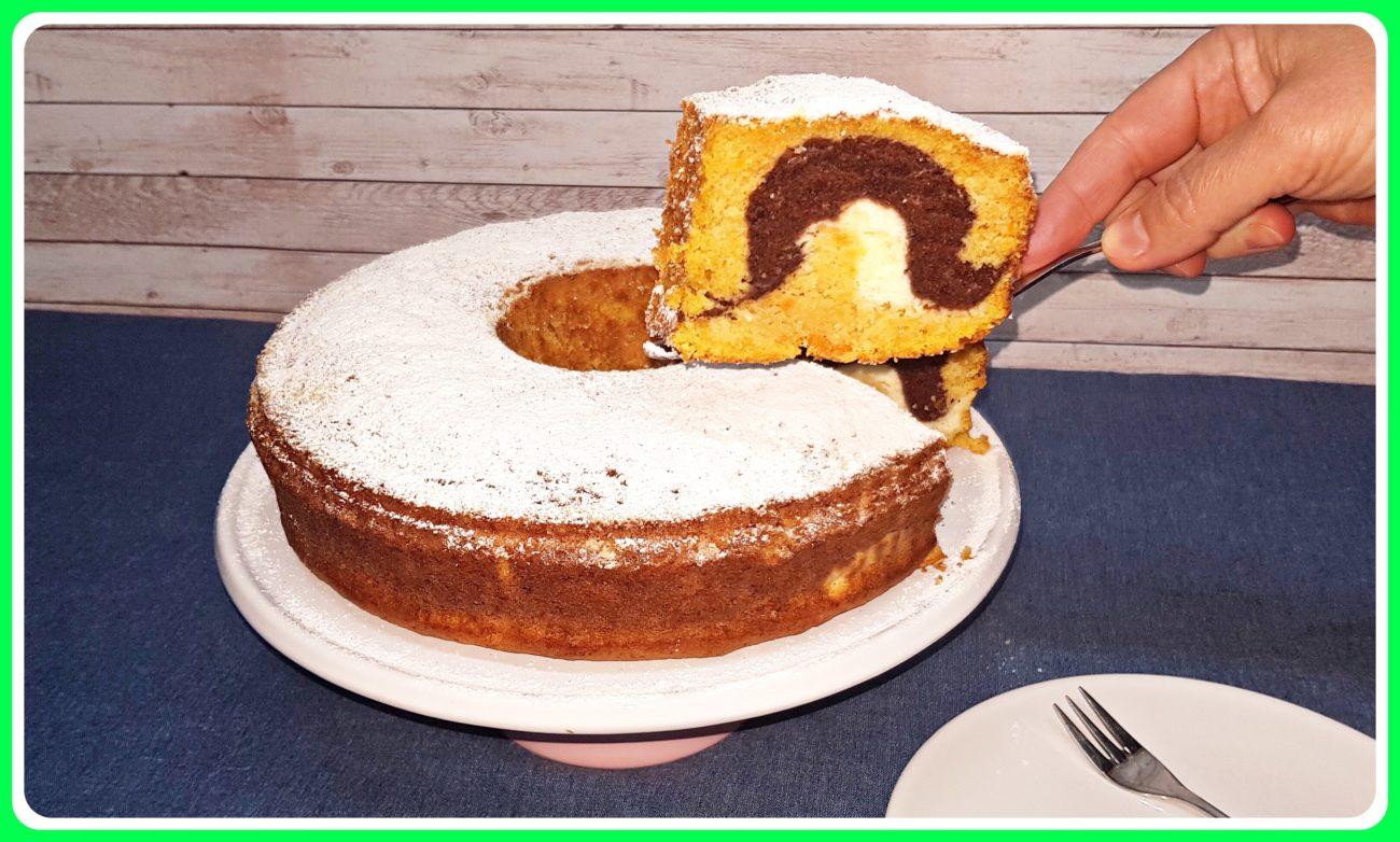 BUNDT CAKE DE CALABAZA, CHOCOLATE Y QUESO