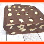 Barritas de chocolate caseras