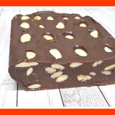 Barritas de chocolate caseras - 2 bocados