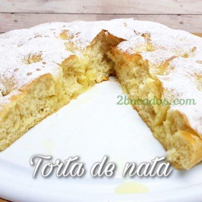 Torta de nata-