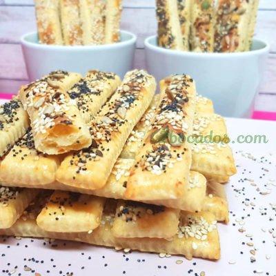Palitos de queso - snacks -2 bocados