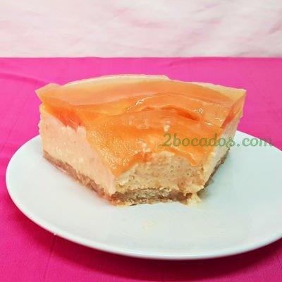 Tarta fria de yogur y melon-3