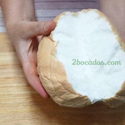 Cómo hacer el Pan Nube de TikTok | Cloud bread