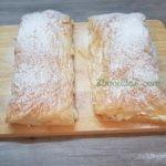 Hojaldre con manzana y crema pastelera - 2 bocados-5