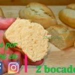 Pan sin levadura 2 bocados