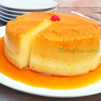 Flan de Maicena | Flan de Crema Pastelera | Flan SIN Horno