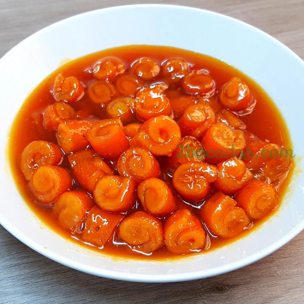 Mermelada de naranja - 2 bocados