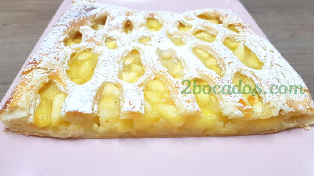 tarta de manzana con hojaldre - 2 bocados - youtube 2