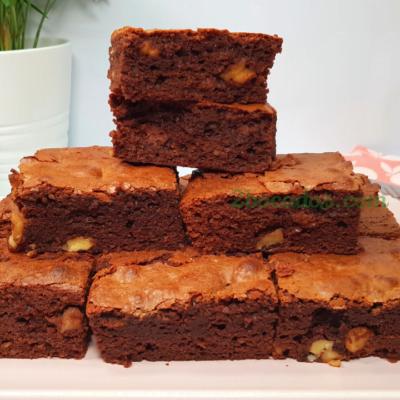 Brownie 2 chocolates