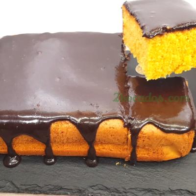 Bizcocho de zanahoria con cobertura de chocolate - 2 Bocados - Youtube